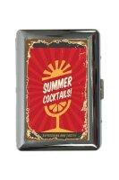 cigarette case tin Nostalgic Alcohol Retro Summer...