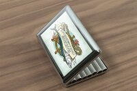 cigarette case tin Angler Home Fish anchor Print Sport...