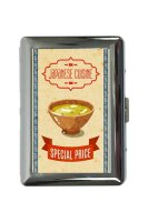 cigarette case tin Asia Style fried rice Print
