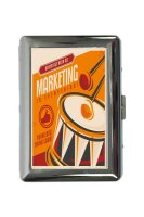 cigarette case tin Nostalgic Professional Marketing Print