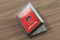 cigarette case tin Nostalgic Professional Barber Shop Print