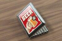 cigarette case tin Brewery Beer Kitchen Premium beer Print