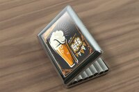 cigarette case tin Brewery Beer Kitchen Beer party Print