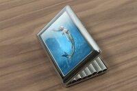 cigarette case tin Fun rative Mermaid Print