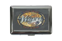 cigarette case tin Bar Party Radio advertising Print
