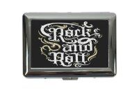 cigarette case tin Kitchen Rock and Roll Print
