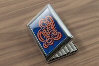 cigarette case tin Greeting Card Happy birthday Print