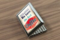 cigarette case tin Coffee Cafe Bar best coffee Print