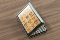 cigarette case tin Coffee Cafe Bar Coffee selection Print