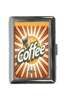 cigarette case tin Coffee Cafe Bar Coffee break Print