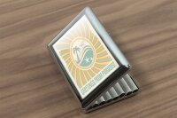 cigarette case tin Holiday Travel Agency Greetings Paradise Print