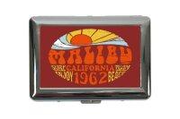 cigarette case tin Holiday Travel Agency Malibu...