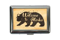 cigarette case tin Holiday Travel Agency welcome to...