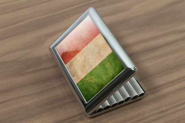 cigarette case tin Holiday Travel Agency Italy Print