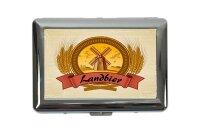 cigarette case tin Kitchen Wheat mill Print