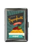 cigarette case tin Kitchen Spaghetti Print