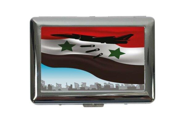 cigarette case tin Nostalgic Fighter aircraft Print
