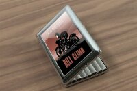 cigarette case tin Garage Hill climb Print
