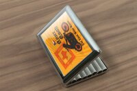 cigarette case tin Garage River Road Print