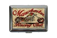 cigarette case tin Garage Chopper Print