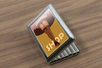cigarette case tin Bar Restaurant Womens stockings Print