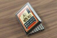 cigarette case tin Fun rative Vintage music Print