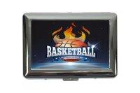 cigarette case tin Fun basketball championship Print