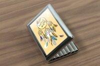 cigarette case tin Nostalgic Motif enjoy your dreams Print