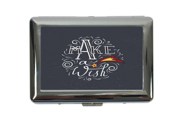 cigarette case tin Retro Wish free Print