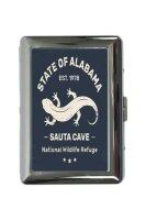 cigarette case tin Kitchen Lizard Alabama Print