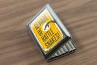 cigarette case tin Kitchen Rattlesnake Print