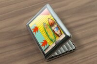 cigarette case tin Holiday Travel Agency Surfboard...