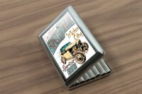 cigarette case tin Holiday Travel Agency Motor City Print