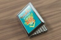 cigarette case tin Holiday Travel Agency Costa Rica Print
