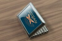 cigarette case tin Holiday Travel Agency West Coast Print