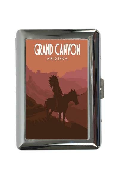 Zigarettenetui Box Abenteurer Grand Canyon Bedruckt