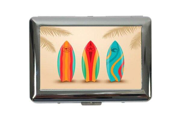 cigarette case tin World Tour Surfboards Print