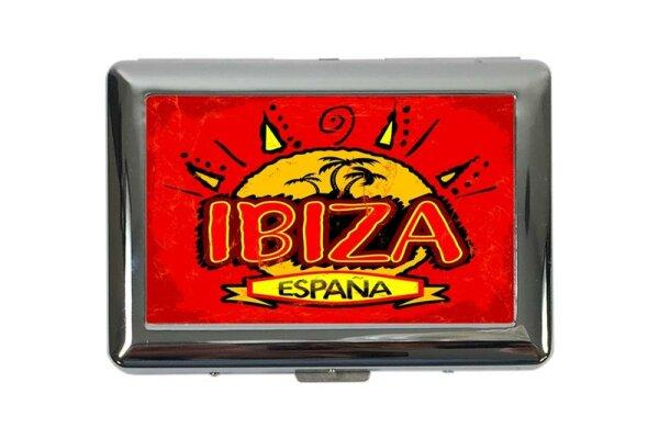 cigarette case tin Holiday Travel Agency Ibiza Spain Print