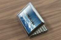 cigarette case tin Military Aircraft carrier Print