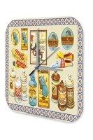 Decorative Wall Clock Drugstore Medicine ointments cream...