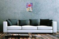"""Fun Tin Sign Wall Decor FeliX Love Sheep couples 8X12"""""""