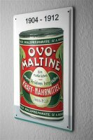 Tin Sign Food Restaurant Decoration Ovomaltine Ur Box...