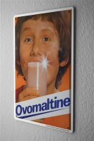 Tin Sign Food Restaurant Decoration Ovomaltine Student...