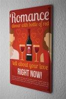 Tin Sign Party Retro Red wine Bar Pub Restaurant