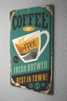 Tin Sign Coffee Cafe Bar Best coffee