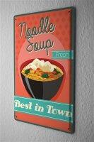 Tin Sign Kitchen Noodle soup