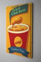 Tin Sign Kitchen Fried chicken