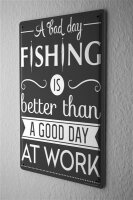 Tin Sign Sayings Fishing work
