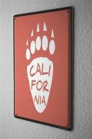 Tin Sign Holiday Travel Agency California