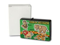 Petrol Lighter Printed Wild Animals Lion Elephant